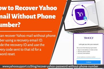 recover Yahoo password without phone number
