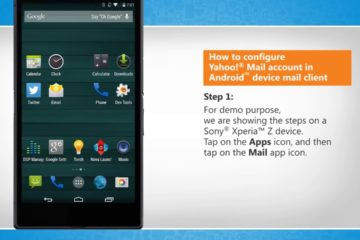 setup yahoo mail on Android