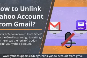unlink Yahoo account from Gmail