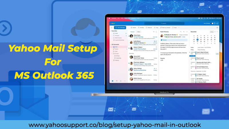 Yahoo Mail Setup For MS Outlook 365