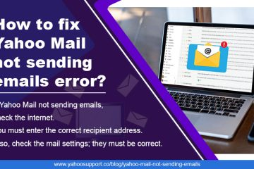 yahoo mail not sending emails