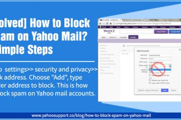 How to block spam on yahoo mail