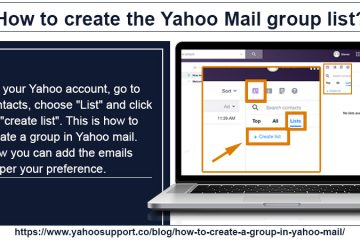 how to create a group in yahoo mail