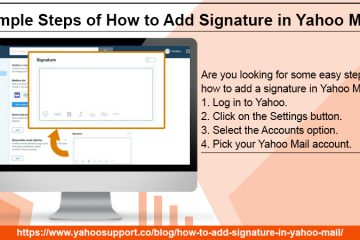 How to Add Signature in Yahoo Mail