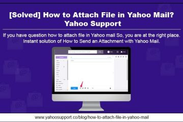 how to attach file in Yahoo mail